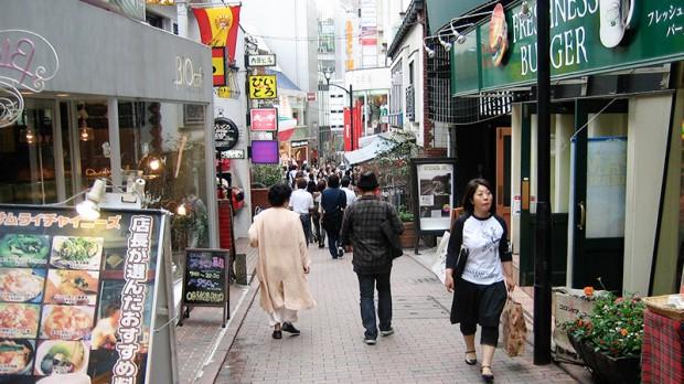comida curiosidades ocio turismo  Bienvenidos a la Calle España en Shibuya