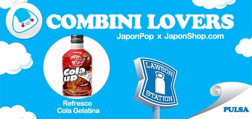 Combini Lovers: Refresco de Cola Gelatina