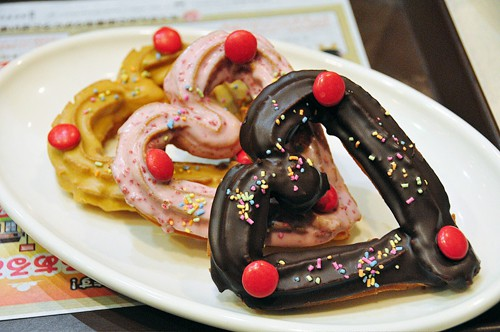 Churros japoneses, para celebrar San Valentín