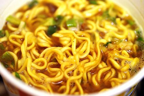 Combini Lovers: Ramen de Curry a los 4 Quesos