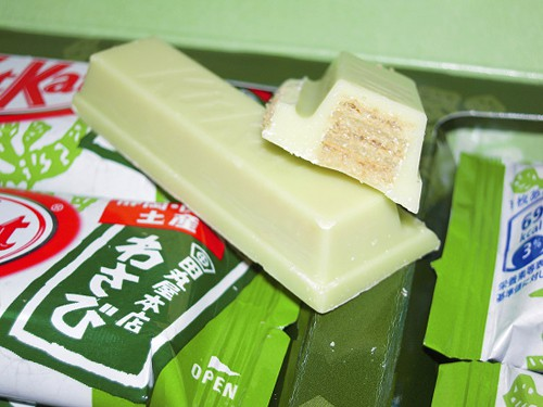 Combini Lovers: Kit Kat de Wasabi