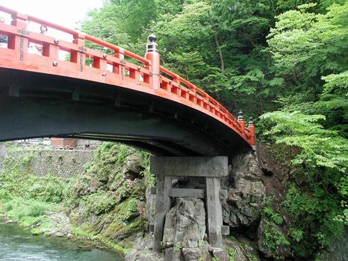 Shinkyo, el Puente Sagrado de Nikko
