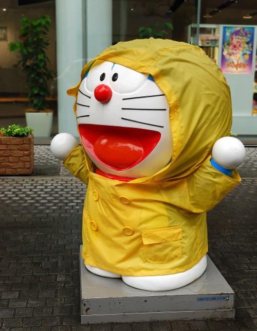 La Estatua de Doraemon en Asakusa