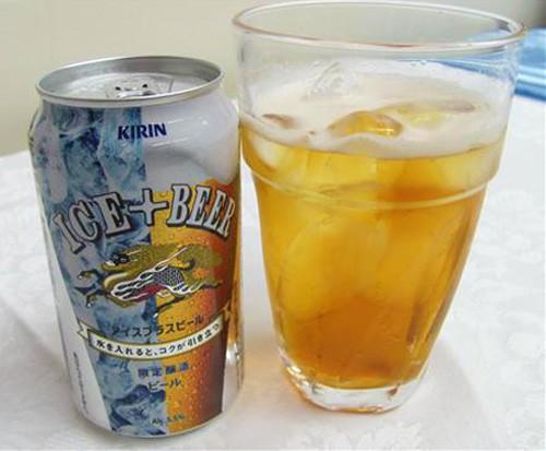 Cerveza Kirin especial para tomar con hielo