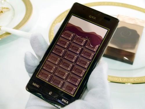 El Smartphone de chocolate fundido
