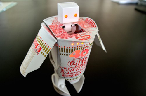 "El Robo Timer de ""Cup Noodles"""