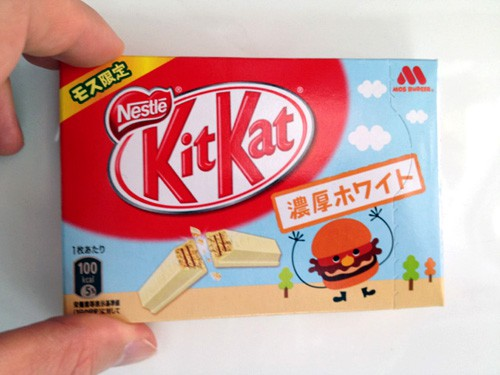 Combini Lovers: Kit Kat Edición Limitada Mos Burger