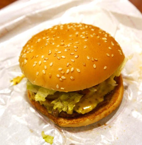 Burger King Japan, lanza la hamburguesa de Manzana y canela