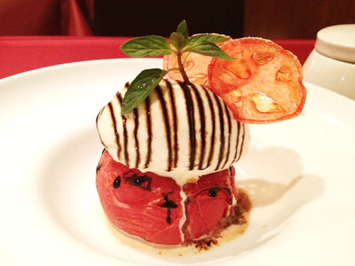Lo último en Japón, tomate en los postres