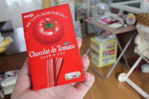 Combini Lovers: Barritas Chocotomate de Meiji