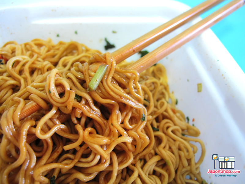 Combini Lovers:Fideos Salteados Yakisoba Hot & Spicy