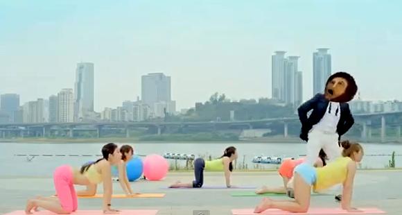 corea curiosidades k-pop musica video  El Ecce Homo de Borja se apunta al Gangnam Style