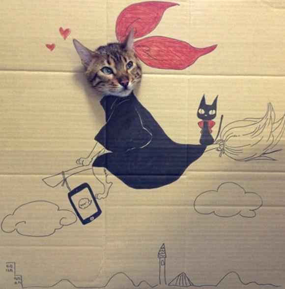 Gua-Gua, el gato de las Mil Caras