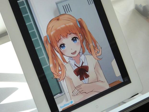 actualidad anime curiosidades japon ocio sociedad tecnologia video  Personajes Anime interactivos y sensibles al tacto