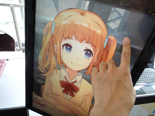Personajes Anime interactivos y sensibles al tacto