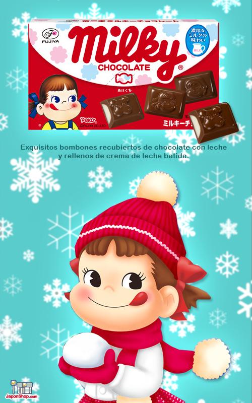 Combini Lovers comida japonshop kawaii  Combini Lovers: Bombones de Peko Chan rellenos de Crema de Leche Batida