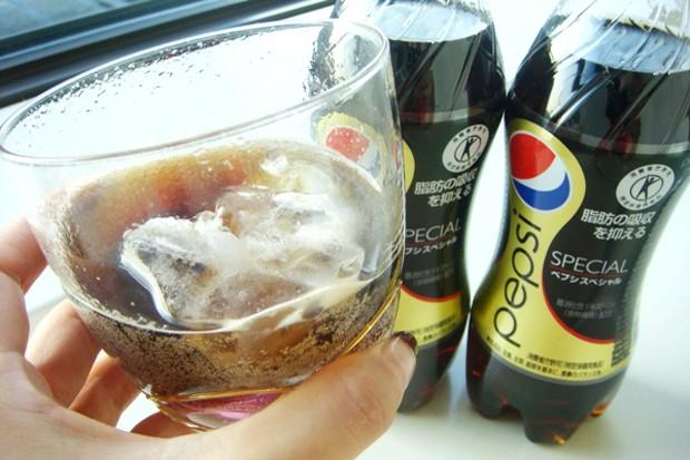La Pepsi japonesa que se come la grasa