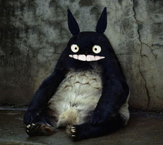 Así serían los personajes de Ghibli si fuesen reales
