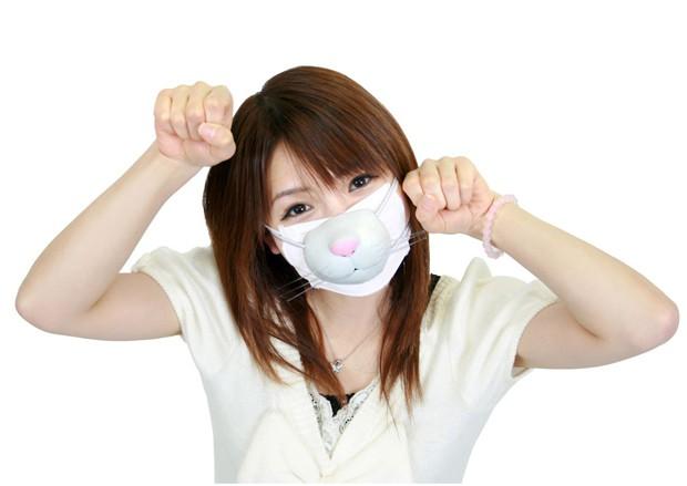 La creciente moda japonesa de ocultar el rostro bajo mascarillas de diseño