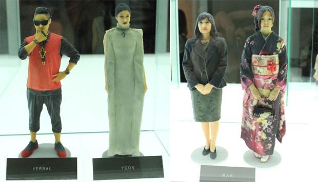 D Printing Exhibition Tokyo : Omote d printing studio tokyo japonpopjaponpop