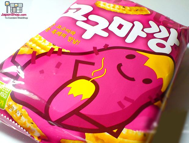 """Combini Lovers: Snack Coreano de """"Boniato con Sirope de Arce"""""""