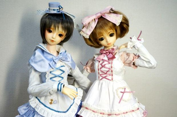 Alice y Kaguya, las Muñecas Robot que bailan