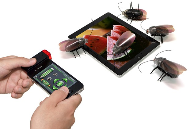 Cucarachas y Ciempies robot para iPad o iPhone.