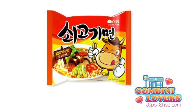 Combini Lovers corea japonshop  Combini Lovers: Ramen Coreano de Ternera | Happy Smile