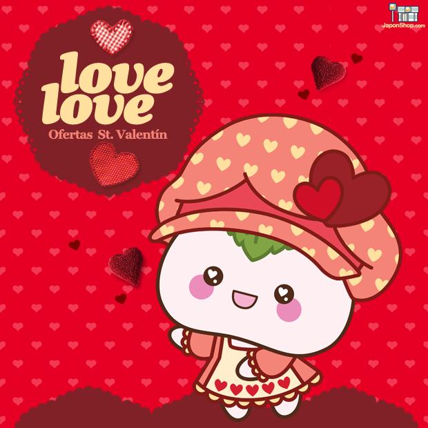 Event Love Love San Valentín en JaponShop.com