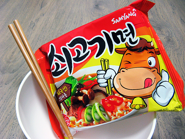 Combini Lovers corea japonshop  Combini Lovers: Ramen Coreano de Ternera | Happy Smile