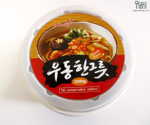 Combini Lovers comida corea japonshop  Combini Lovers: Udon frescos coreanos con Kimchi, Jumbo Cup