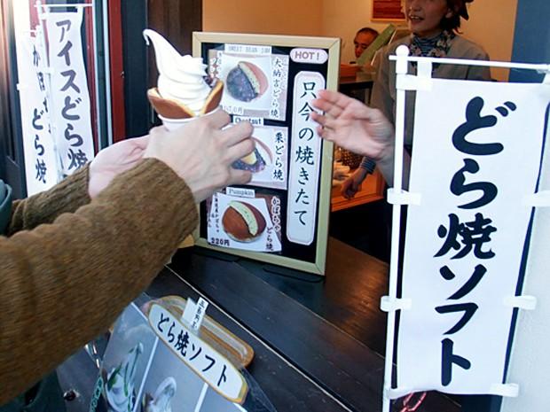 comida curiosidades japon sociedad  Dorayakis como Helados