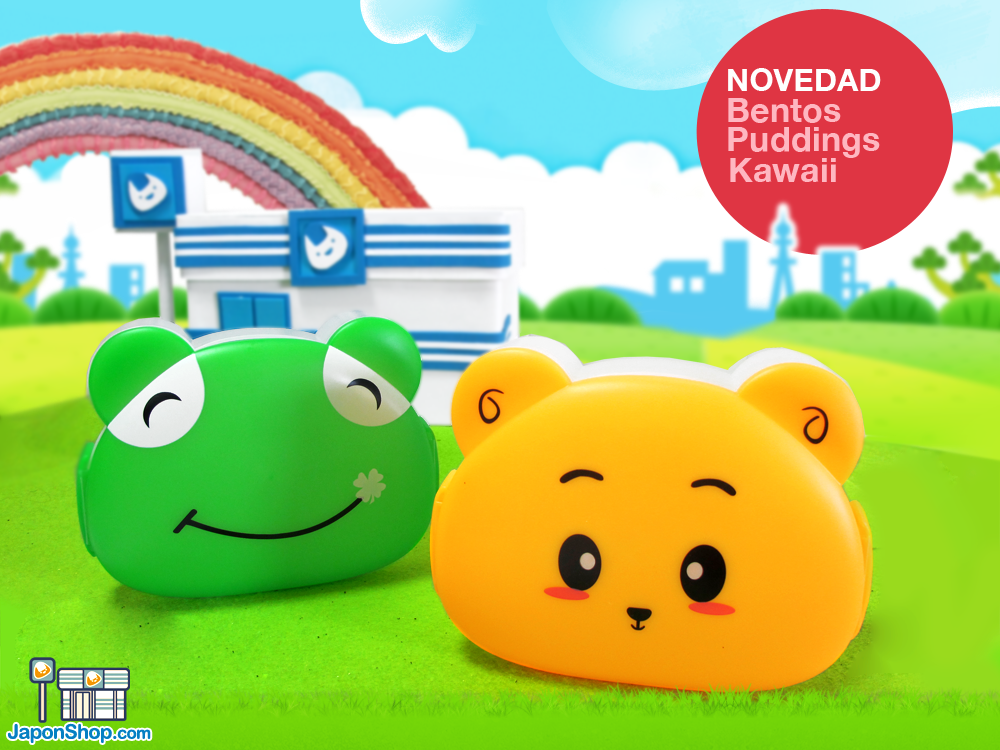 Combini Lovers: Bento Puddings Kawaii