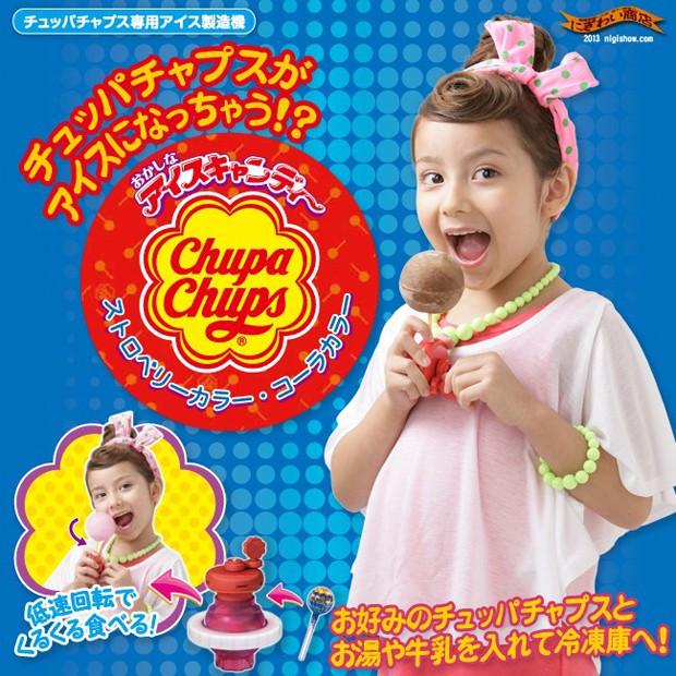 """Nuevo invento japonés; Convierte tus """"Chupa Chups"""" en helados!"""