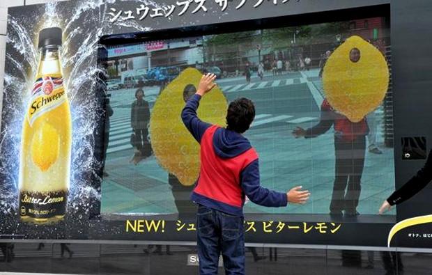 curiosidades japon negocios sociedad spots tokyo tv  Lluvia de limones en pleno Ginza