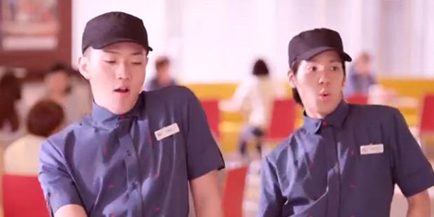 """""""McCrew Dancing"""", el baile de Mc Donald's Japón"""