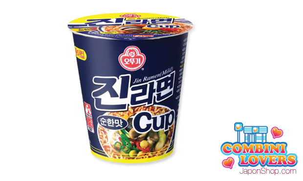 Combini Lovers comida corea japonshop  Combini Lovers Review: Ramen Coreanos de Carne Jin Blue Cup