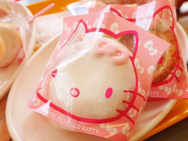 "Mr Donuts presenta los Donuts de ""Hello Kitty"""