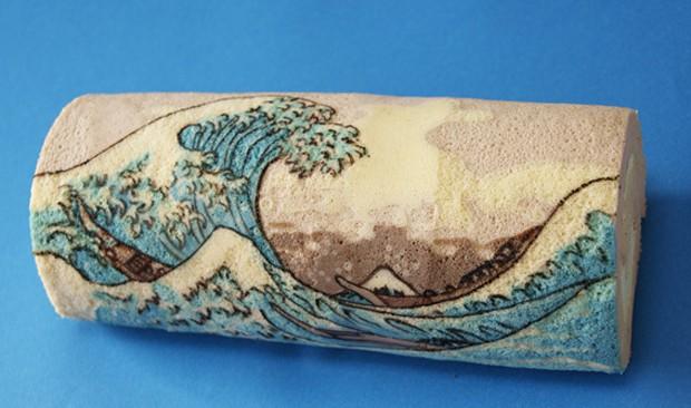 comida curiosidades japon kawaii sociedad video  Arte en Los Cake Rolls