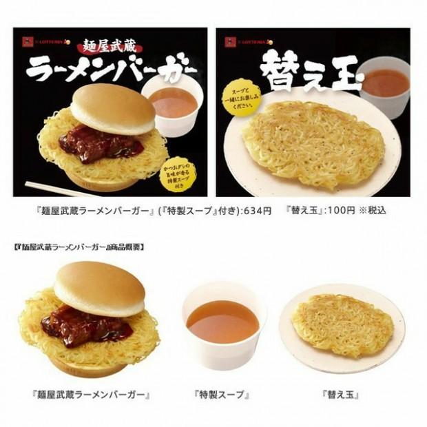 comida corea curiosidades japon negocios sociedad  Hamburguesa de Ramen