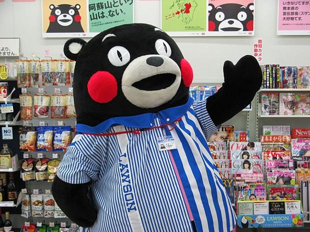 comida curiosidades japon kawaii negocios noticias ocio sociedad  El popular y millonario Oso Kumamon