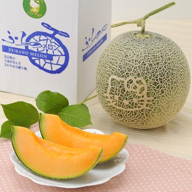 Lo último en Japón: Melones de Hello Kitty