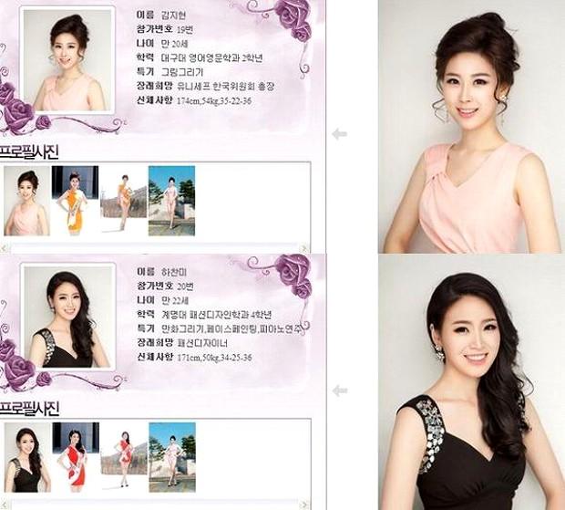 El misterio de las Misses Coreanas clonadas