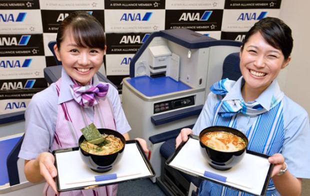 """La Aerolínea japonesa """"ANA"""" ofrecerá Ramen en sus vuelos"""