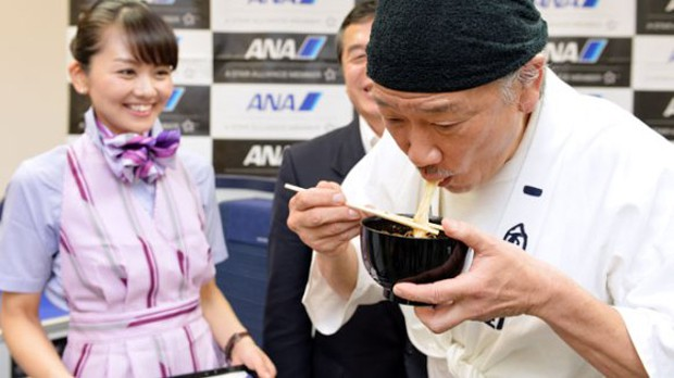 """actualidad comida curiosidades japon negocios ocio sociedad turismo  La Aerolínea japonesa """"ANA"""" ofrecerá Ramen en sus vuelos"""