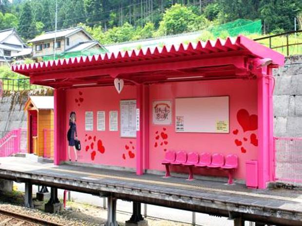 """actualidad curiosidades japon kawaii noticias ocio sociedad turismo  La """"Estación del Amor"""""""