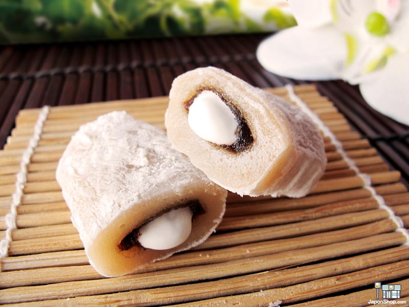 Combini Lovers Review: Mochis Milky Cream de Azuki | Yuki & Love Box
