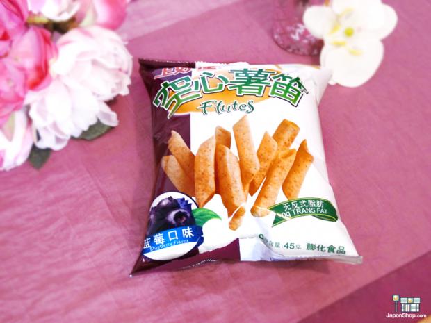 Combini Lovers comida japonshop  Combini Lovers Review: Snack Melody de Patata y Toppings de Arándanos