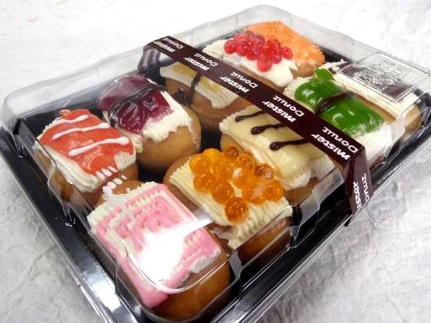 """actualidad comida curiosidades negocios ocio sociedad tv video  Sushido, el """"sushi donuts"""""""
