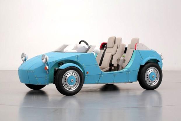 """Nueva versión del """"Camatte"""", el coche auto-montable de Toyota"""